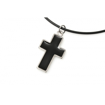 "Wisiorek ""Black cross"""